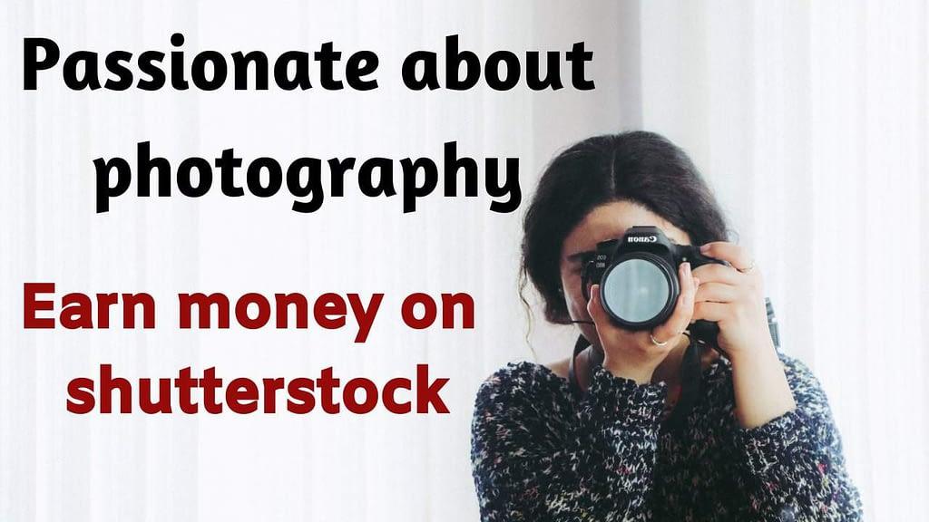 Earn money on shutterstock